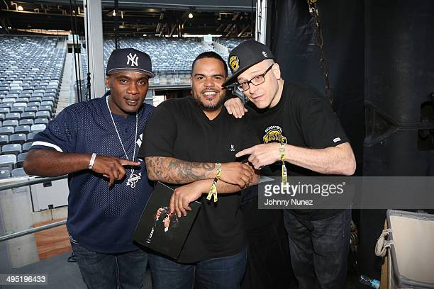 Jabba DJ Enuff and Bobby Konders attend Hot 97 Summer Jam 2014 at MetLife Stadium on June 1 2014 in East Rutherford City