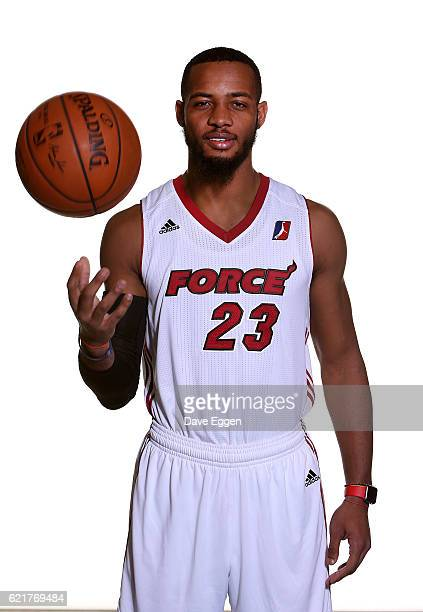 Jabril Trawick poses for a photo during the Sioux Falls Skyforce media day at the Sanford Pentagon November 7 2016 in Sioux Falls South Dakota NOTE...
