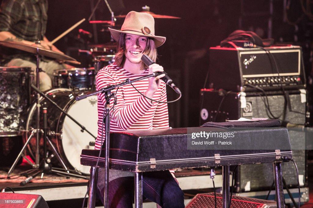 Jacco Gardner performs during Les Inrocks Festival at La Cigale on November 9, 2013 in Paris, France.
