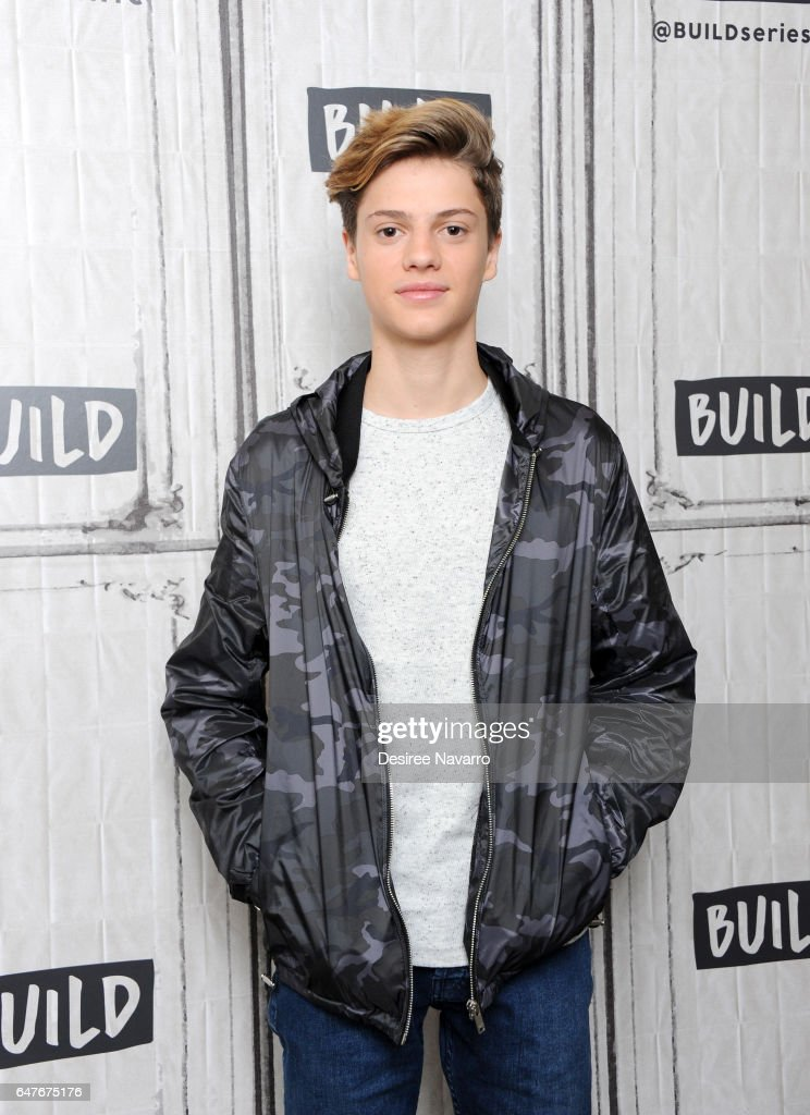 Jace Norman attends Build Series to discuss 'Henry Danger' at Build Studio on March 3, 2017 in New York City.