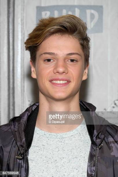 Jace Norman attends the Build Series to discuss 'Henry Danger' at Build Studio on March 3 2017 in New York City
