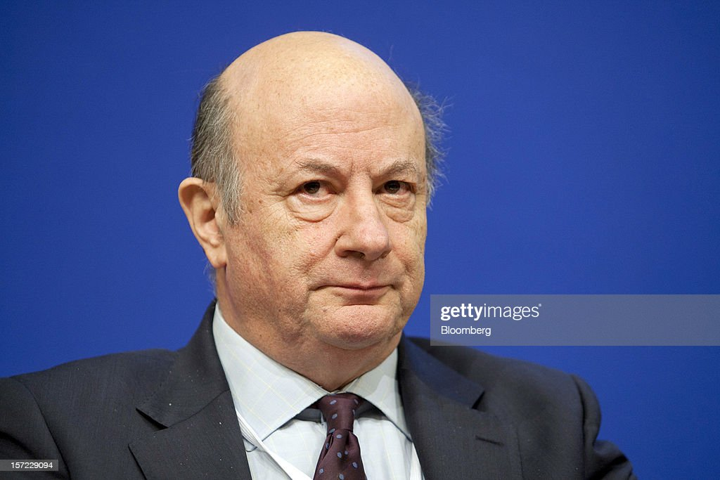 Jacek Rostowski, Poland's finance minister, pauses during a financial conference at the Ministry of Economy, Finance and Industry in Paris, France, on Friday, Nov. 30, 2012. The European Central Bank will do 'whatever is necessary to save euro' and is ready to intervene when needed, ECB President Mario Draghi said, while saying 'there will always be conditions' to intervention. Photographer: Balint Porneczi/Bloomberg via Getty Images