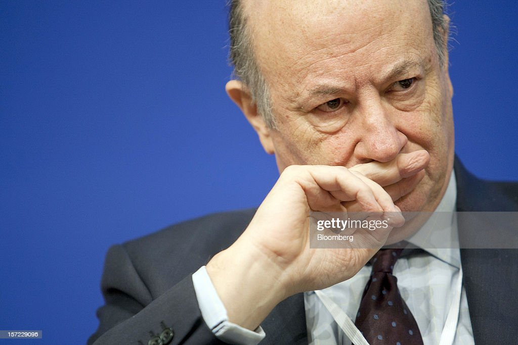 Jacek Rostowski, Poland's finance minister, reacts during a financial conference at the Ministry of Economy, Finance and Industry in Paris, France, on Friday, Nov. 30, 2012. The European Central Bank will do 'whatever is necessary to save euro' and is ready to intervene when needed, ECB President Mario Draghi said, while saying 'there will always be conditions' to intervention. Photographer: Balint Porneczi/Bloomberg via Getty Images