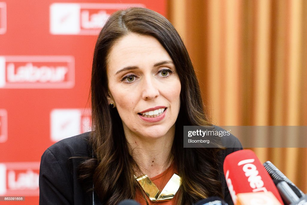 New Zealand Prime Minister-Elect Jacinda Ardern News Conference