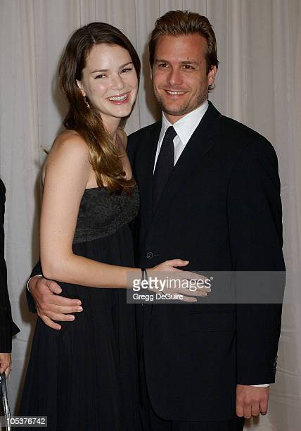 Jacinda Barrett and Gabriel Macht during The 8th Annual Hollywood Film Festival Hollywood Awards Gala Arrivals at Beverly Hilton Hotel in Beverly...