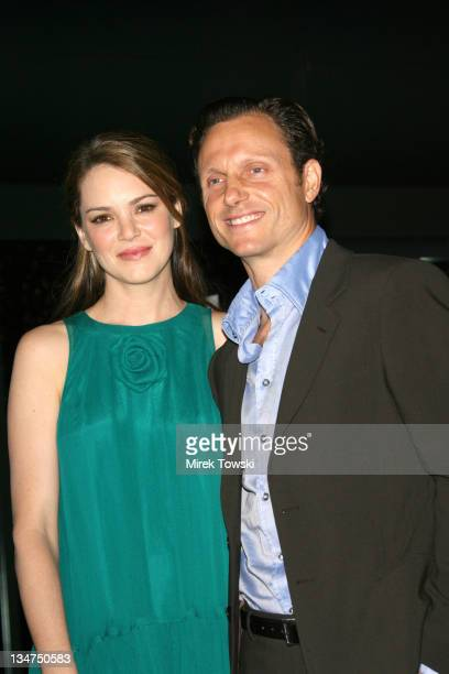 Jacinda Barrett and Tony Goldwyn during 'The Last Kiss' Los Angeles Movie Premiere at Directors Guild of America Theater in Los Angeles California...