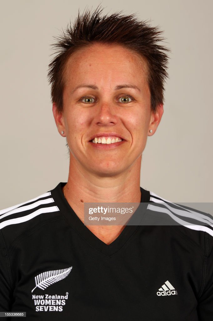 Jacinta Horan poses for a headshot during the New Zealand Womens Rugby Sevens headshot session at Pulman Lodge on November 3, 2012 in Auckland, New Zealand.