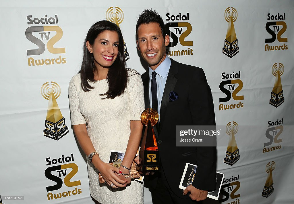Jack Alati (R) and guest attend the 2nd Annual Social TV Awards at Bel-Air Country Club on July 16, 2013 in Los Angeles, California.