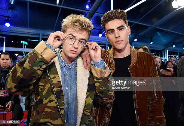Jack and Jack attend the MTV Europe Music Awards 2016 on November 6 2016 in Rotterdam Netherlands