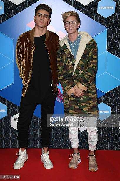 Jack and Jack attends the MTV Europe Music Awards 2016 on November 6 2016 in Rotterdam Netherlands