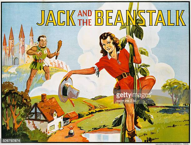 Jack and the Beanstalk Color Print