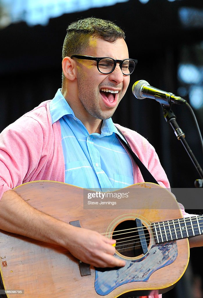 Jack Antonoff of FUN. performs on Day 2 of the 27th Annual Bridge School Benefit concert at Shoreline Amphitheatre on October 27, 2013 in Mountain View, California.