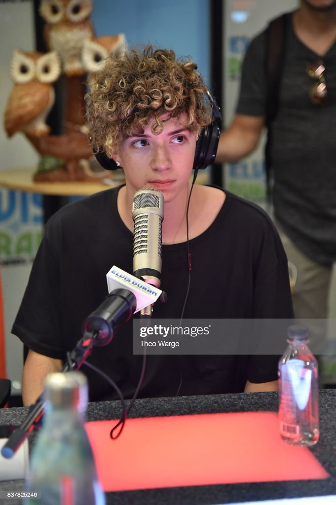Jack Avery of Why Don't We Visit 'The Elvis Duran Z100 Morning Show' at Z100 Studio on August 23, 2017 in New York City.