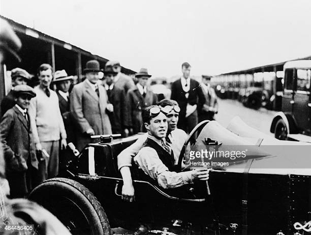 Jack Barclay in a Vauxhall TT car at Brooklands Surrey circa 1925 Barclay later founded Jack Barclay Bentley the world's largest and oldest Bentley...