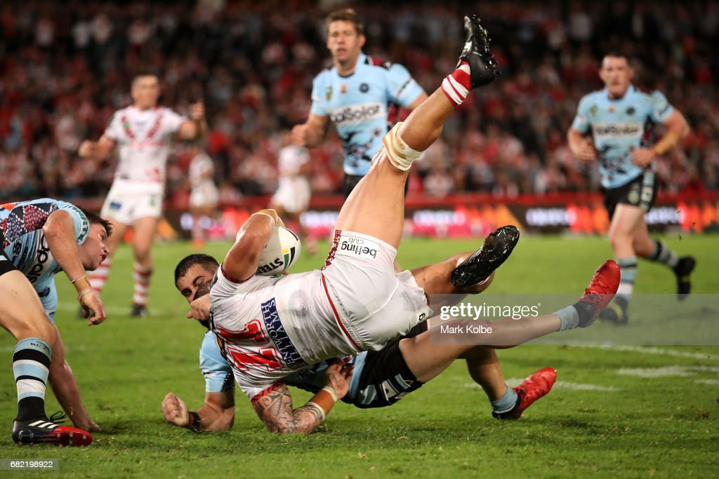 NRL Rd 10 - Dragons v Sharks