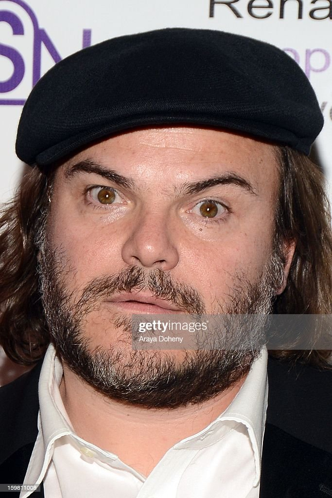 Jack Black arrives at the Renal Support Network hosts 14TH Annual Renal Teen Prom featuring special guest star, Jack ?Black event at Notre Dame High School on January 20, 2013 in Sherman Oaks, California.