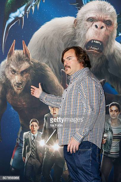 Jack Black attends a photo call for the film 'Goosebumps' at Hotel Adlon on February 1 2016 in Berlin Germany