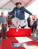 Jack Black Honored With Star On The Hollywood Walk Of...