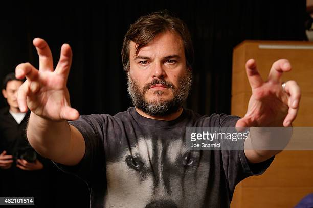 Jack Black attends The Variety Studio At Sundance Presented By Dockers Day 1 on January 24 2015 in Park City Utah