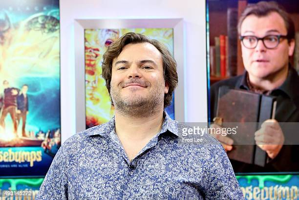 AMERICA Jack Black is a guest on 'Good Morning America' 10/15/15 airing on the ABC Television Network