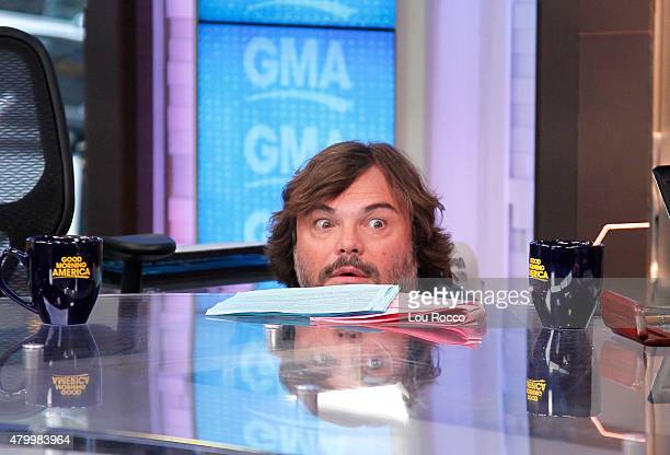 AMERICA Jack Black is a guest on 'Good Morning America' 7/8/15 airing on the ABC Television Network