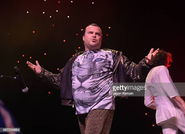 Jack Black of the band Tenacious D performs at Festival Supreme 2015 at The Shrine Auditorium on October 10 2015 in Los Angeles California