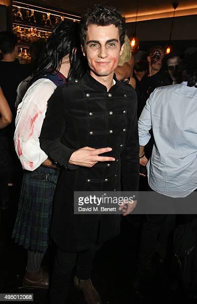 Jack Brett Anderson attends Hallowzeen at M Restaurant on October 30 2015 in London England