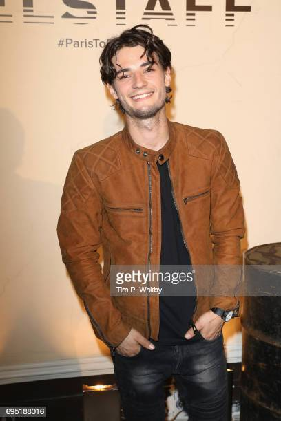 Jack Brett Anderson attends the Belstaff Presentation during London Fashion Week Men's June 2017 collections on June 12 2017 in London England