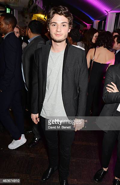 Jack Brett Anderson attends the InStyle and EE Rising Star Party in association with Lancome Karen Millen and Sky Living at The Ace Hotel on February...