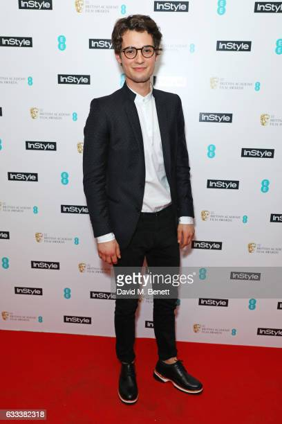 Jack Brett Anderson attends the InStyle EE Rising Star Party ahead of the EE BAFTA Awards at The Ivy Soho Brasserie on February 1 2017 in London...
