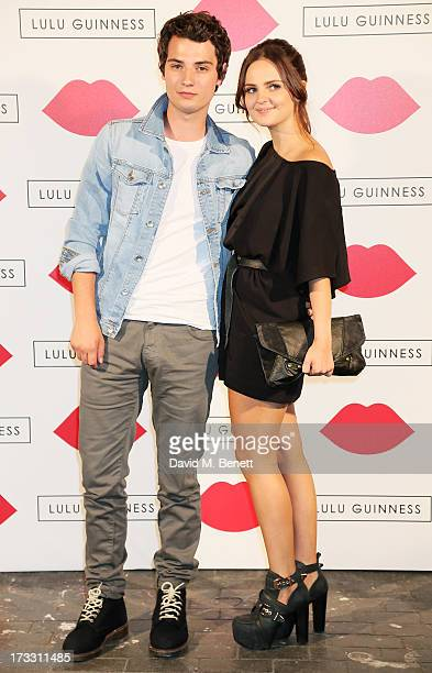 Jack Brett Anderson attends the Lulu Guinness Paint Project in collaboration with Beautiful Crime and their artist Joseph Steele at The Old Sorting...