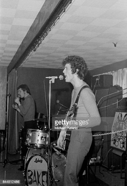 Jack Bruce and Eric Clapton of British rock supergroup Cream at the Starlite Ballroom Greenford London 19th February 1967