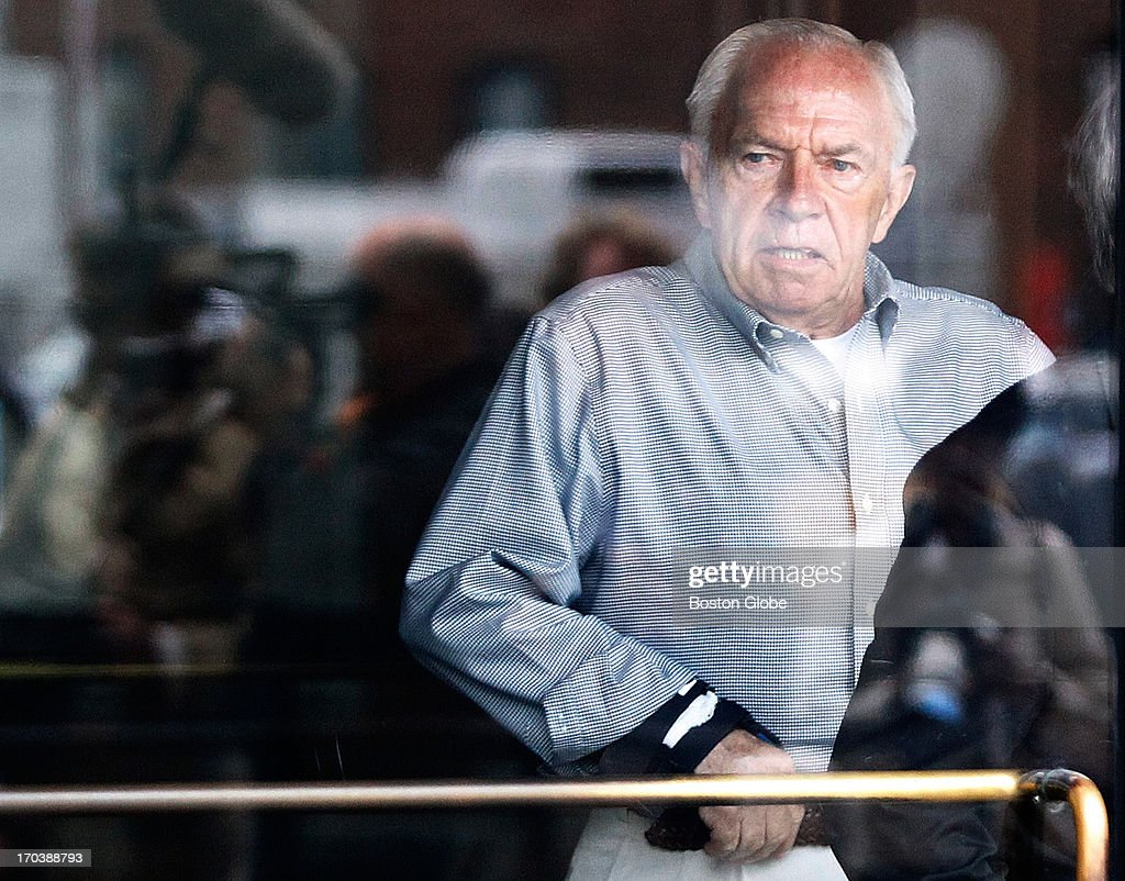 Jack Bulger brother of accused mob boss James 'Whitey' Bulger leaves the courthouse after attending the first day of the trial James 'Whitey'...
