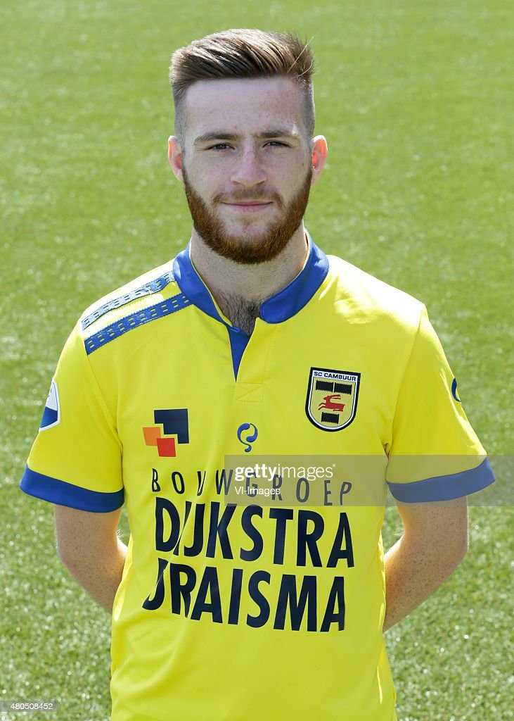 Jack Byrne during the team presentation of Cambuur Leeuwarden on July 10 2015 at the Cambuur stadium in Leeuwarden The Netherlands