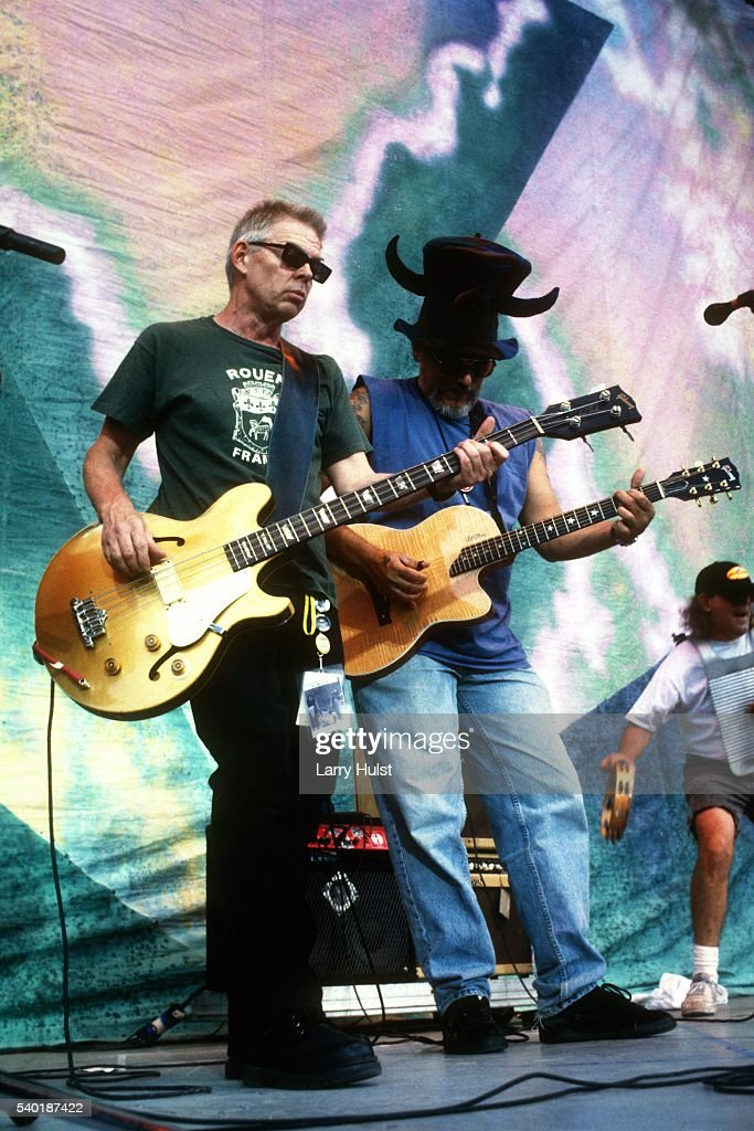 Jack Casady and Jorma Kaukonen is performing with 'Hot Tuna' at the Fiddlers Green in Englewood CO on July 19 1998