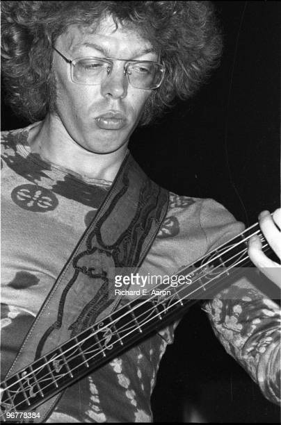 Jack Casady from Hot Tuna and ex Jefferson Airplane performs live on stage in New York in 1974