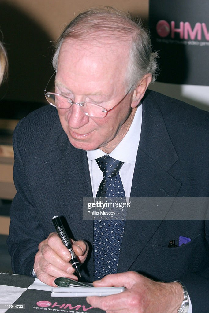 <a gi-track='captionPersonalityLinkClicked' href=/galleries/search?phrase=Jack+Charlton&family=editorial&specificpeople=453447 ng-click='$event.stopPropagation()'>Jack Charlton</a> during <a gi-track='captionPersonalityLinkClicked' href=/galleries/search?phrase=Jack+Charlton&family=editorial&specificpeople=453447 ng-click='$event.stopPropagation()'>Jack Charlton</a> Signs His DVD '<a gi-track='captionPersonalityLinkClicked' href=/galleries/search?phrase=Jack+Charlton&family=editorial&specificpeople=453447 ng-click='$event.stopPropagation()'>Jack Charlton</a>: The Irish Years' at HMV in Dublin - October 22, 2005 at HMV in Dublin, Ireland.