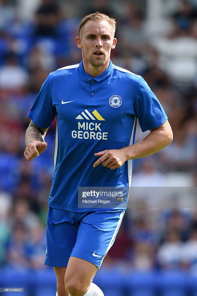 Jack Collison of Peterborough in action during the pre season friendly match between Peterborough United and a Tottenham Hotspur XI at London Road...