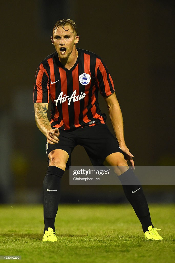 Jack Collison of Queens Park Rangers during the PreSeason friendly match between Southend United and Queens Park Rangers at Roots Hall on July 30...