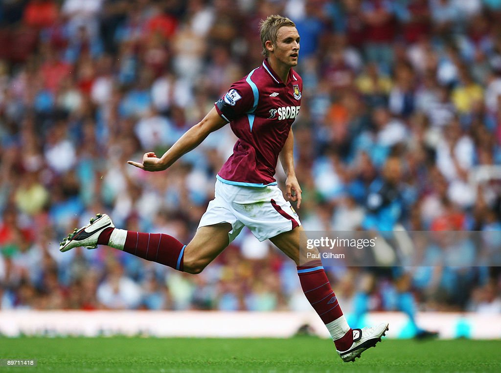 Jack Collison of West Ham United in action during the Bobby Moore Cup between West Ham United and Napoli at Upton Park on August 8, 2009 in London, England.
