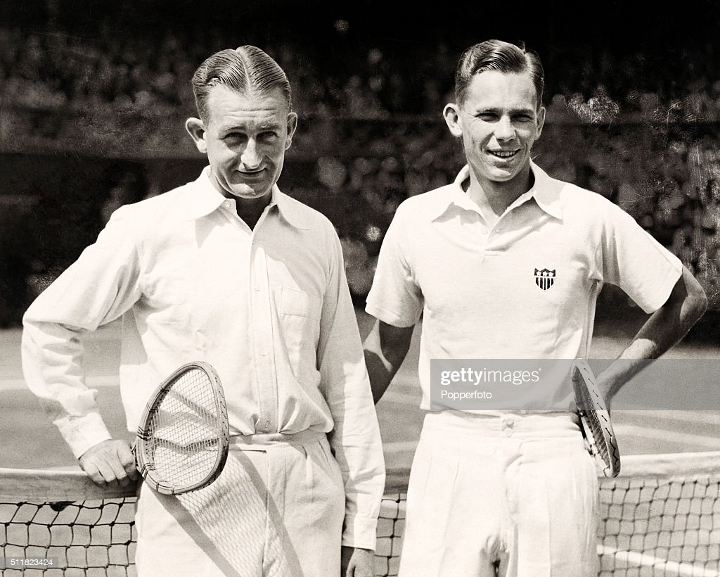 Jack Crawford And Ellsworth Vines Wimbledon