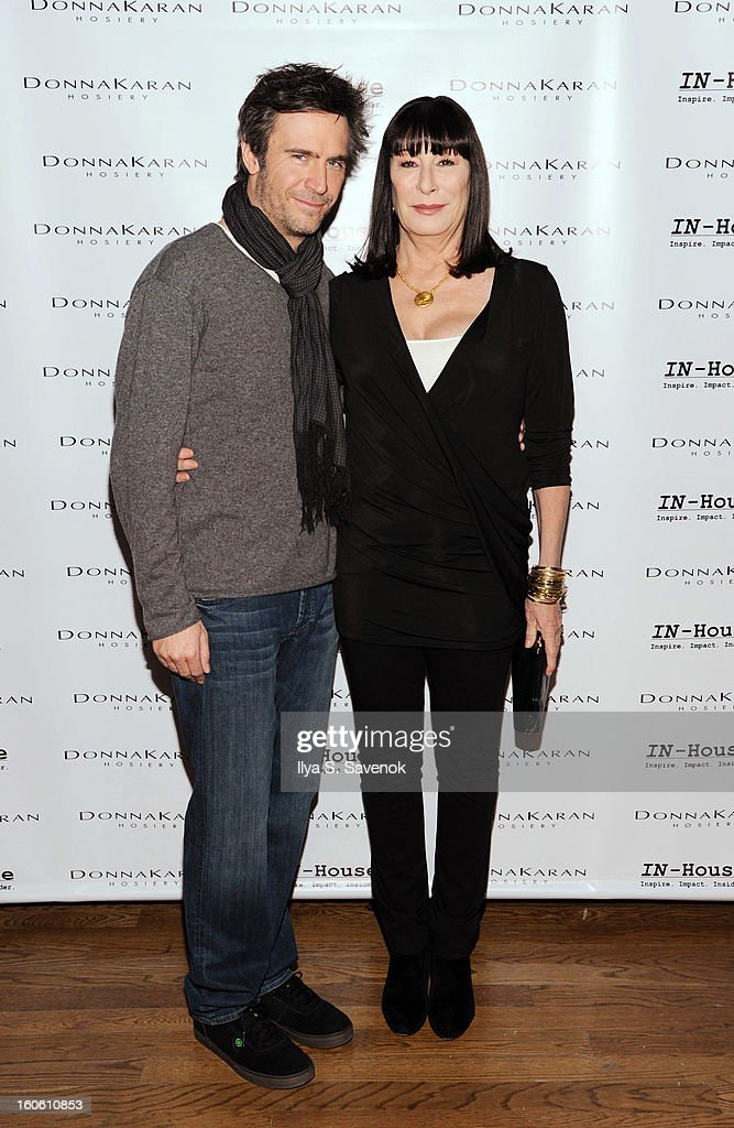 Jack Davenport and Angelica Huston attends 'Haven't We Met Before' New York Premiere at 711 Greenwich Street on February 3 2013 in New York City