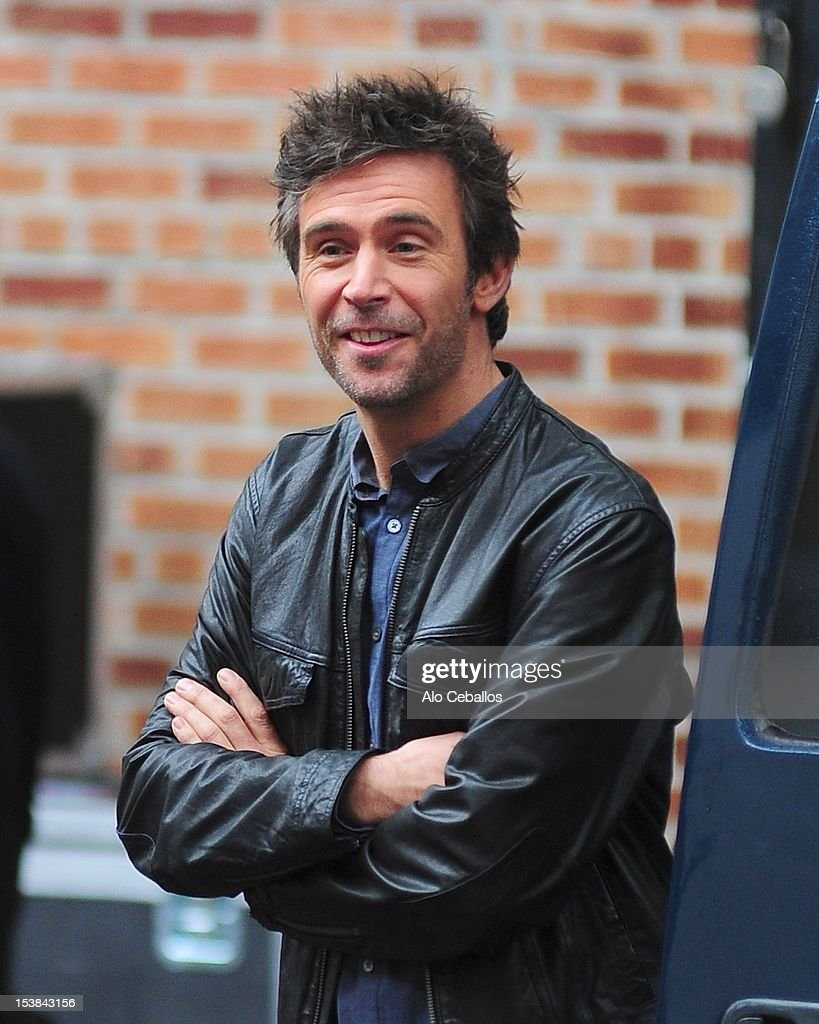Jack Davenport are seen on the set of 'Smash' on October 9, 2012 in New York City.