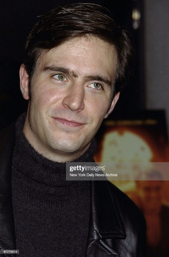Jack Davenport arrives at the premiere of the movie 'The Talented Mr Ripley' at the Museum of Modern Art He's in the film