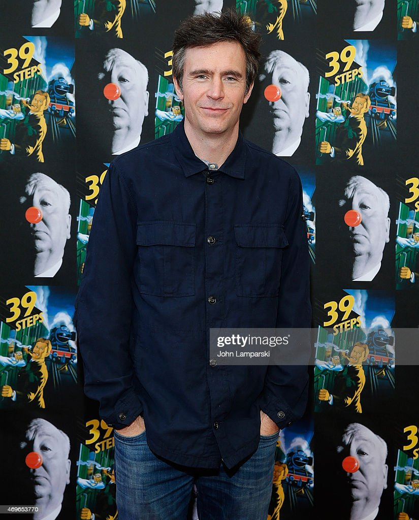 Jack Davenport attends '39 Steps' Opening Night at Union Square Theatre on April 13 2015 in New York City
