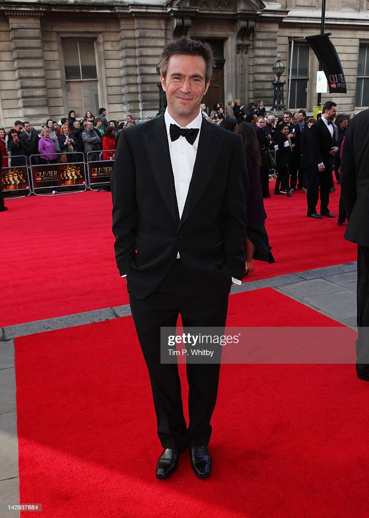 Jack Davenport attends the 2012 Olivier Awards at The Royal Opera House on April 15 2012 in London England