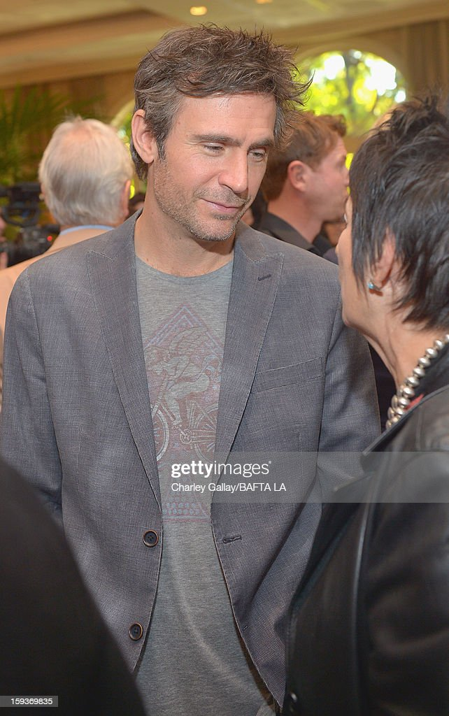 Jack Davenport attends the BAFTA Los Angeles 2013 Awards Season Tea Party held at the Four Seasons Hotel Los Angeles on January 12 2013 in Los...
