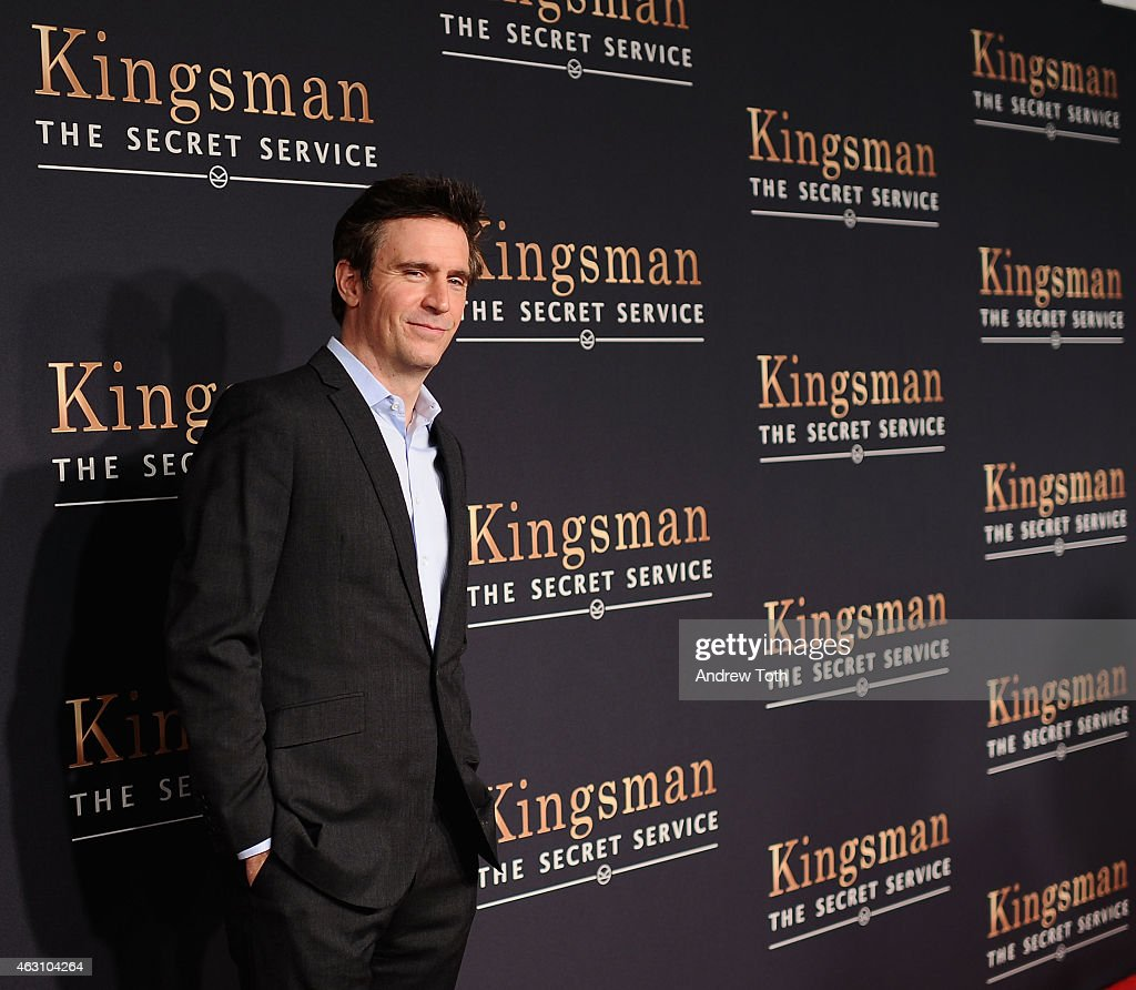 Jack Davenport attends the 'Kingsman The Secret Service' New York premiere at SVA Theater on February 9 2015 in New York City