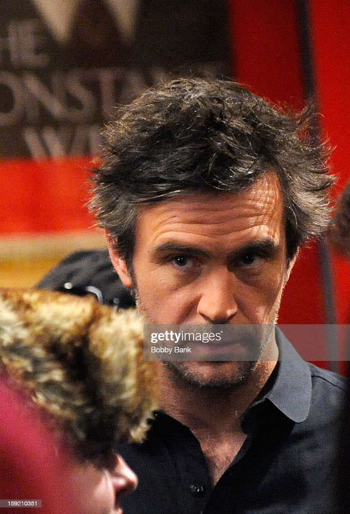 Jack Davenport filming on location for 'Smash' on January 9 2013 in New York City