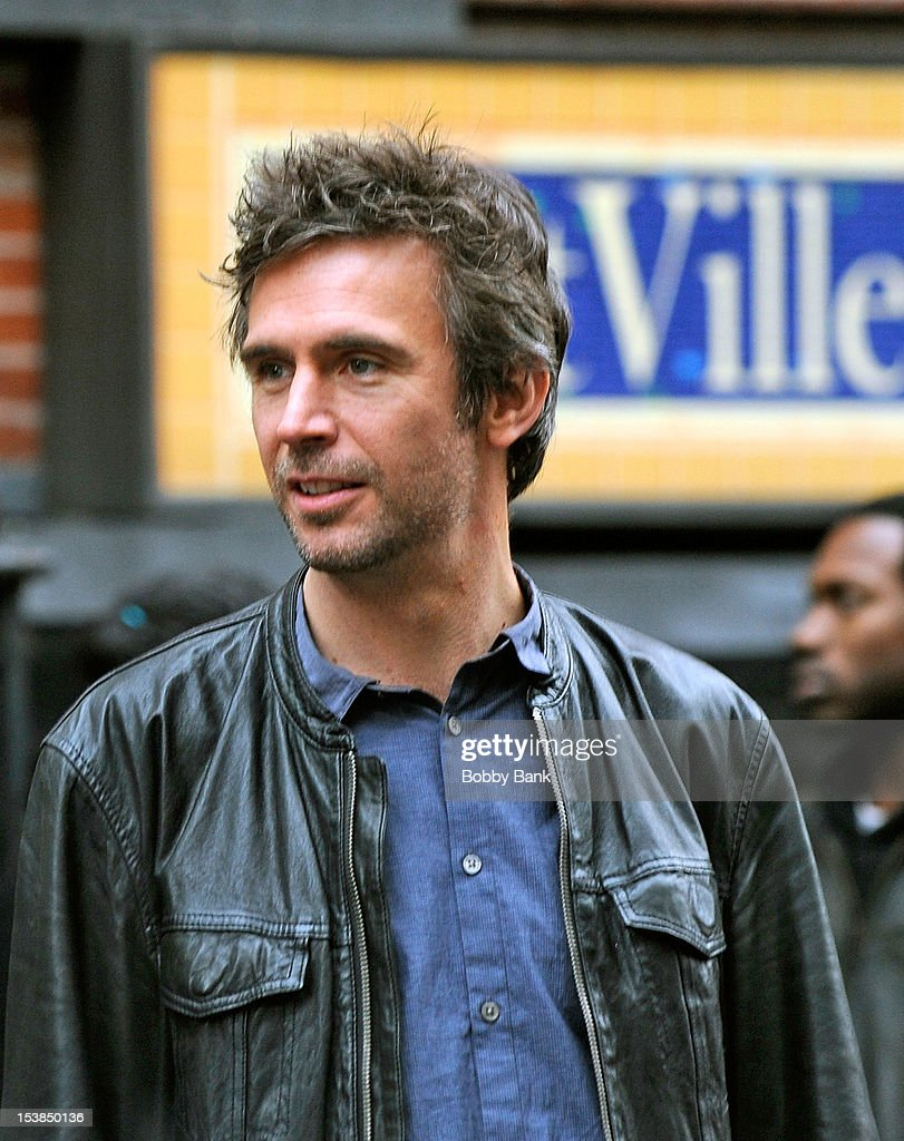 Jack Davenport filming on location for 'Smash' on October 9 2012 in New York City
